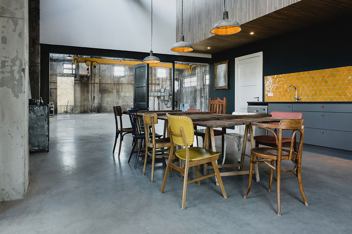 Theaterwerkplaats Roest - Interior photography