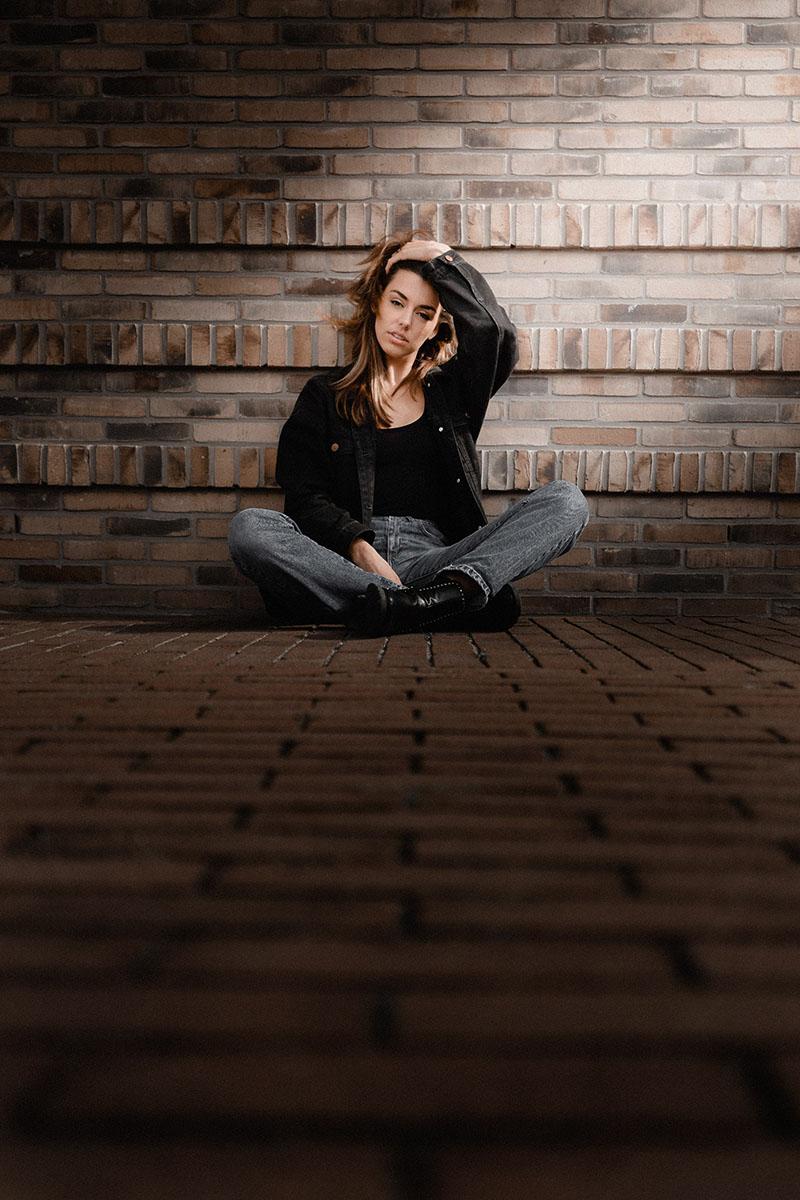 model portretfotografie portret lifestyle Lookbook Tess Amsterdam - Portrait photography