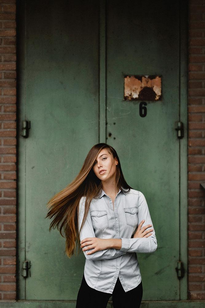 Portretfotografie Lookbook Stephanie Jurriaan Huting fotografie Hutingnet